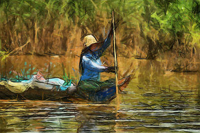 Painting - Beautiful Lady by Teara Na