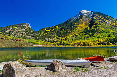 Photograph - Beautiful Lake Setting In Marble Colorado by Willie Harper