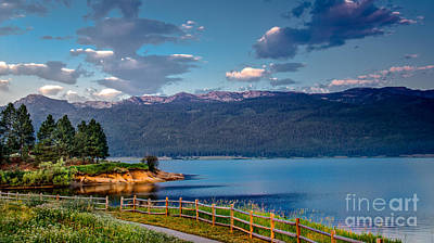 Beautiful Lake View Art Print by Robert Bales