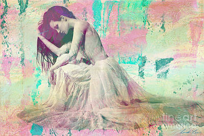 Digital Art - Beautiful Like A Rainbow by Linda Lees