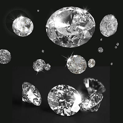 Beautiful Like Diamonds In The Sky Art Print by Gina Dsgn