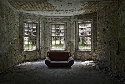 Sofa Photograph - Beautiful Living? by Joachim G Pinkawa