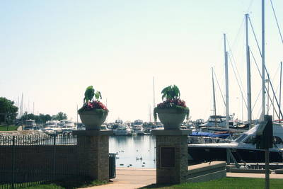 Photograph - Beautiful Marina Entrance by Kay Novy