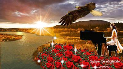 Digital Art - Beautiful Melody by Annette Abbott