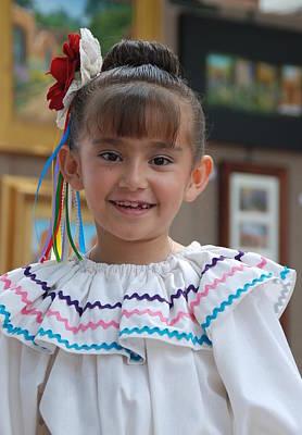 Photograph - Beautiful Mexican Girl  by Irina ArchAngelSkaya