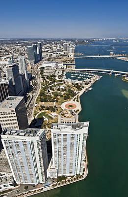 Bayfront Park Photograph - Beautiful Miami by Patrick M Lynch
