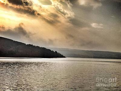 Photograph - Beautiful Morning At Loch Awe by Joan-Violet Stretch
