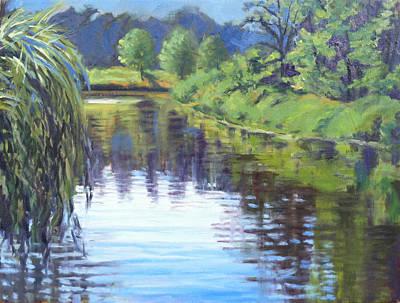 Basin Park Painting - Beautiful Morning by Daniel Fishback