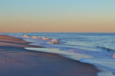 Beautiful Ocean In Nc Art Print by Cynthia Guinn