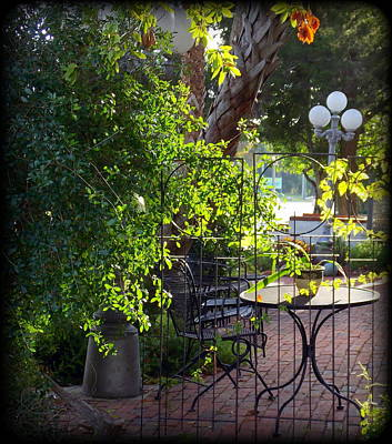 Photograph - Beautiful Patio by Sheri McLeroy
