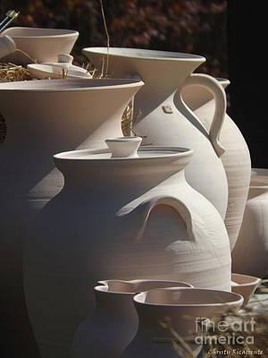 Beautiful Pottery Art Print