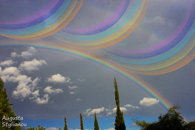 Colourfull Photograph - Beautiful Rainbows by Augusta Stylianou