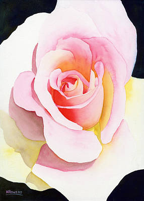 Painting - Beautiful Rose by Ken Powers