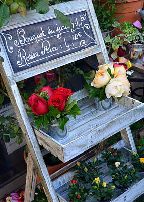 Photograph - Beautiful Roses For Sale by Carla Parris