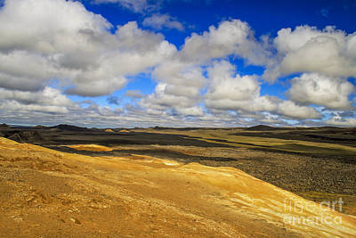 Photograph - Beautiful Rugged Landscape With Clouds by Patricia Hofmeester