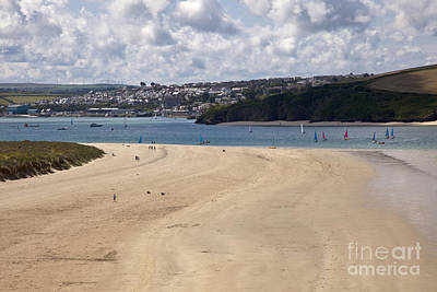 Photograph - Beautiful Sandy Cornish Beach by Anthony Morgan