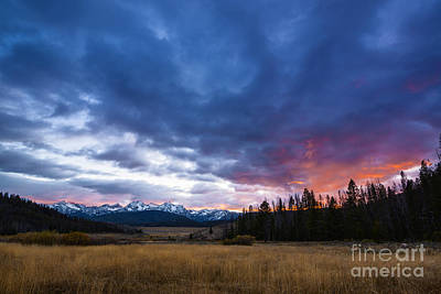 Photograph - Beautiful Sawtooth Sunset by Vishwanath Bhat