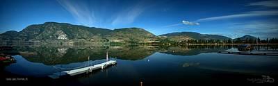 Photograph - Beautiful Skaha Lake - Penticton Bc by Guy Hoffman