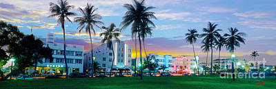 Miami Mixed Media - Beautiful South Beach by Jon Neidert