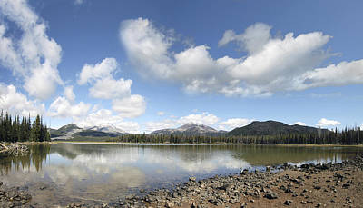Bath Time Rights Managed Images - Beautiful Sparks Lake Oregon Royalty-Free Image by Jit Lim