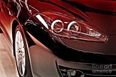 Western Art - Beautiful Sports Car by Dan Radi