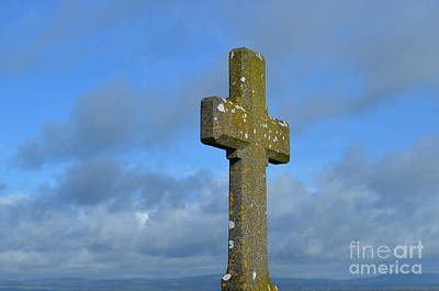 Beautiful Stone Cross In Ireland Art Print by DejaVu Designs