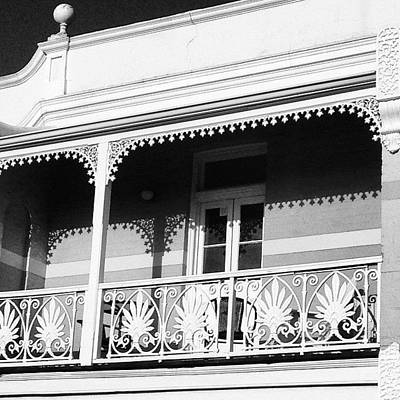 Decorative Wall Art - Photograph - Beautiful Balcony by Sinead Connell
