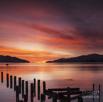 New Zealand Photograph - Beautiful Sunrise by Colin and Linda McKie