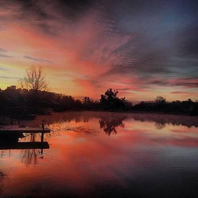Beauty Wall Art - Photograph - Beautiful Sunrise #jj_louisiana by Scott Pellegrin