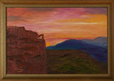 Beautiful Sunset Art Print by Margaret Pappas