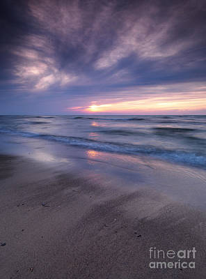 Pinery Photograph - Beautiful Sunset On Shore Of Lake Huron by Oleksiy Maksymenko