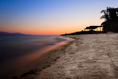 Photograph - Beautiful Sunset On The Red Sea by Mark E Tisdale