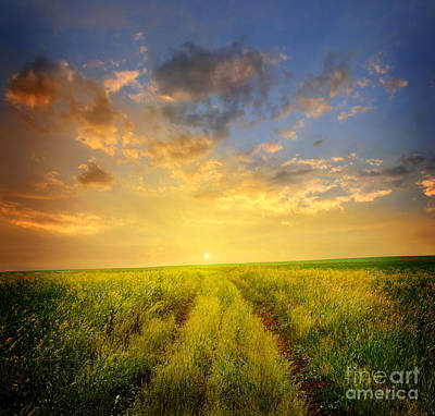 Beautiful Sunsets Photos Art Print by Boon Mee
