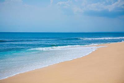 Beautiful Surfing Tropical Sand Beach Art Print