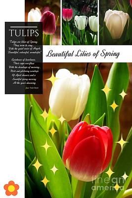Beautiful Tulip Series 1 Art Print