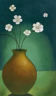 Beautiful Vase Art Print by Pablo Esteban
