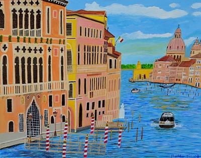 Painting - Beautiful Venice by Magdalena Frohnsdorff