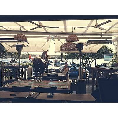 Patio Photograph - Beautiful View From Work @istapasnoosa by Stephanie Talbot