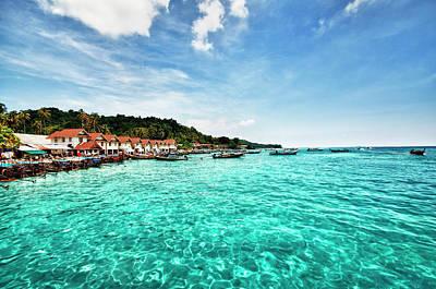 Longtail Wall Art - Photograph - Beautiful View Of Phi-phi Islands by Aleksandargeorgiev