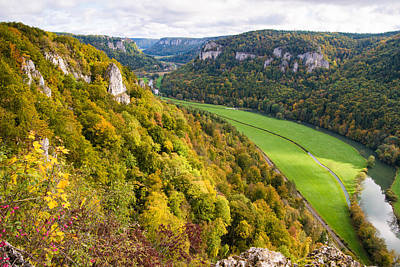 Photograph - Beautiful View Towards Donautal Danube Valley by Matthias Hauser