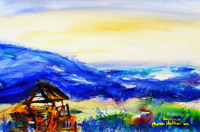 Painting - Beautiful Viwe  by Wanvisa Klawklean