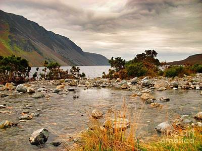 Photograph - Beautiful Wastwater by Joan-Violet Stretch
