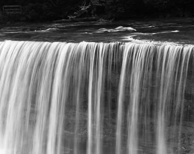 Beautiful Waterfall Flow Art Print