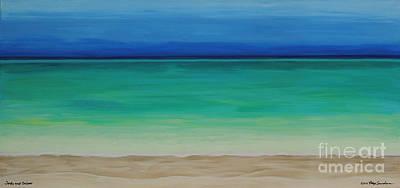 Beautiful Waters Original by Robyn Saunders