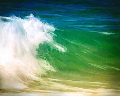 Beautiful Wave Art Print by Vicki Jauron