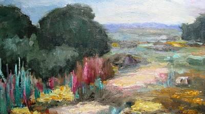 Beautiful Western Landscape Art Print