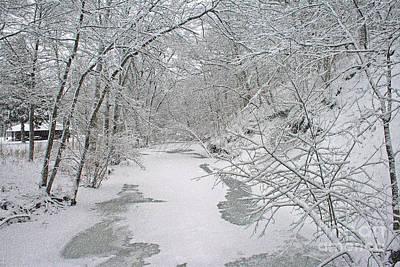 Digital Art - Beautiful Winter by Kay Novy