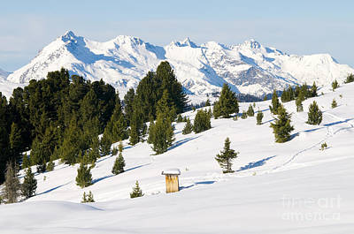 Alpine Photograph - Beautiful Winter Scenery by Michal Bednarek