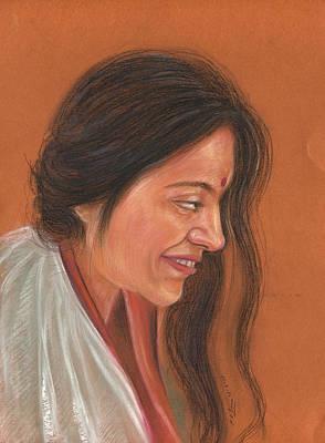 Pastel - Beautiful Women by Prakash Leuva