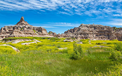 Photograph - Beauty And The Badlands by John M Bailey